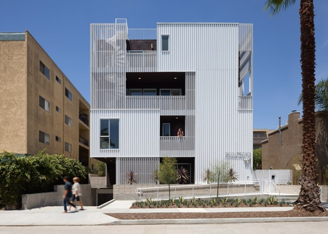 Estados Unidos: 'Cloverdale749 Apartments', Los Angeles - LOHA