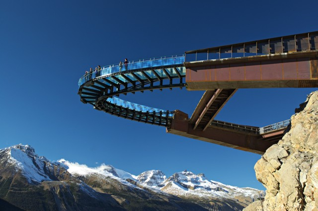 Canadá: Glacier Skywalk, Jasper National Park