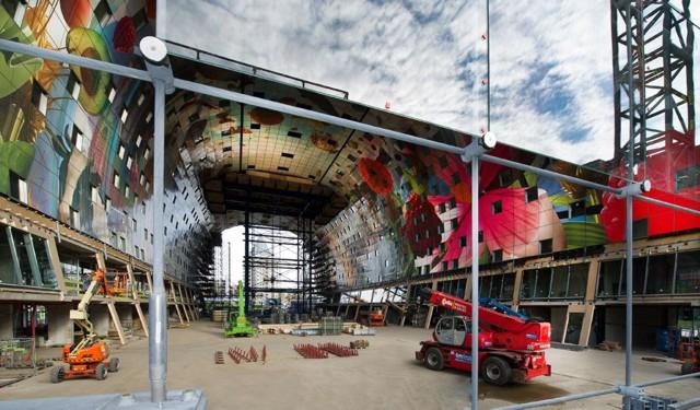 Holanda: 'Market Hall', Roterdam - MVRDV... imágenes de las obras