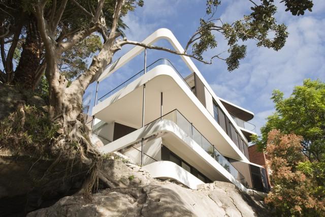Australia: 'Clifftop House', Sydney - Luigi Rosselli Architects