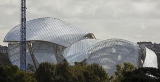 Francia: 'Fondation Louis Vuitton', París - Frank Gehry... imágenes de las obras