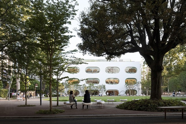 Japón: Biblioteca Pùblica en Musashino, Tokio - kw+hg architects