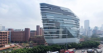 Video: 'Jockey Club Innovation Tower' (JCIT), Hong Kong - Zaha Hadid Architects
