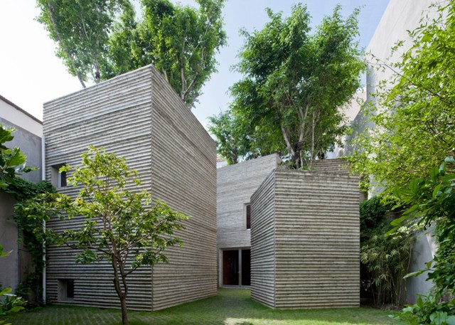 Vietnam: 'House for Trees', ciudad Ho Chi Minh - Vo Trong Nghia Architects