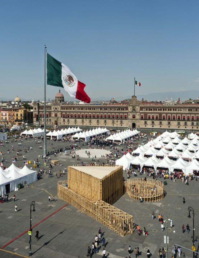 Ciudad de México: CDMX, pabellón para la Feria de las Culturas - PRODUCTORA