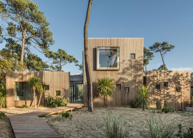 Francia: Villa Chiberta, Biarritz - Atelier Delphine Carrère