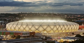 Brasil 2014: Arena da Amazonia, Manaos - gmp Architekten