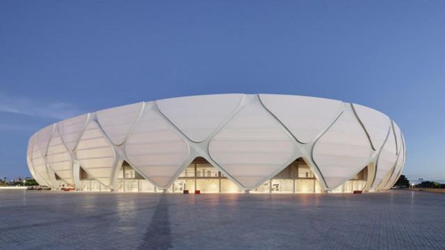 Brasil 2014: Arena da Amazonia, Manaus - gmp Architekten