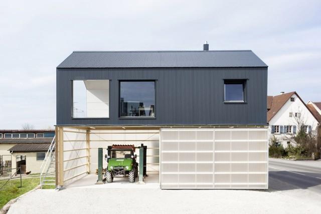 Alemania: Casa Unimog, Ammerbuch - Fabian Evers Architecture + Wezel Architektur