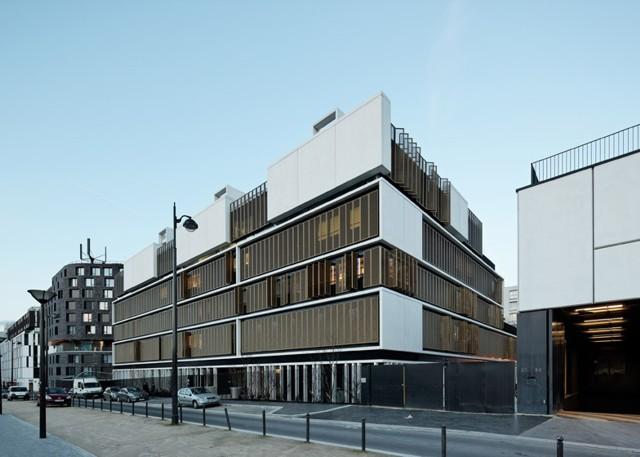 Francia: 'Maison d'accueil de l'enfance Eleanor Roosevelt', París - Marjan Hessamfar & Joe Verons Associates