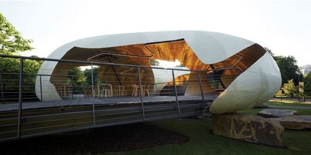 Londres im genes del serpentine gallery pavilion 2014 for Noticias de arquitectura recientes