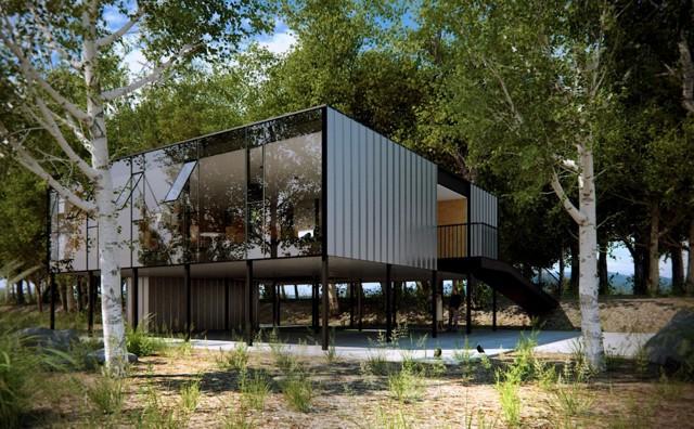 Brasil: 'Casa Professores UFRGS', Porto Alegre - Mapa Arquitetos