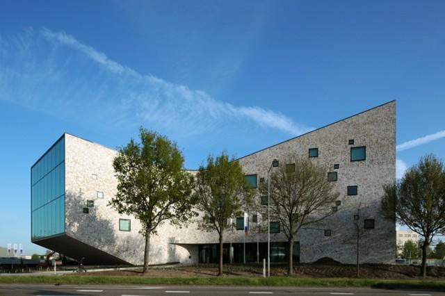 Holanda: 'Rabobank Westelijke Mijnstreek Advice Centre', Sittard - Mecanoo