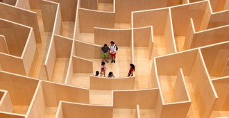 Video: 'The BIG Maze' en el National Building Museum de Washington