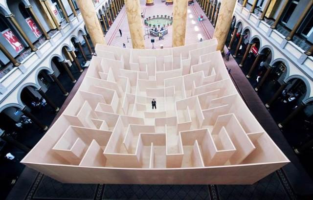 Video: 'The BIG Maze' en el National Building Museum de Washington