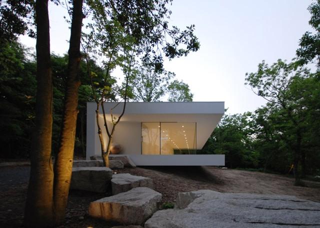 Japón: Galería y casa en la prefectura de Mie - Shinichi Ogawa & Associates
