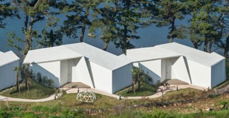 Corea del Sur: 'Knot Houses', Isla Geoje - Atelier Chang