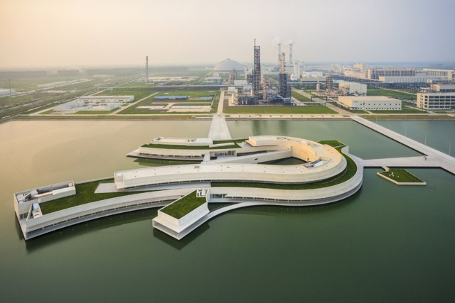 China: 'Building On the Water', Ciudad de Huai'an - Álvaro Siza + Carlos Castanheira