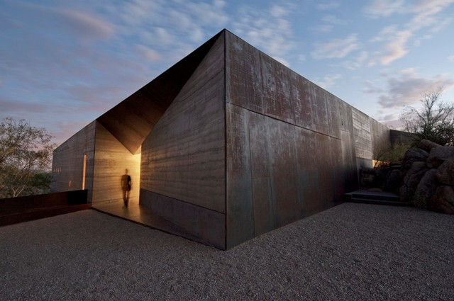 Estados Unidos: 'Desert Courtyard House', Scottsdale, Arizona - Wendell Burnette Architects
