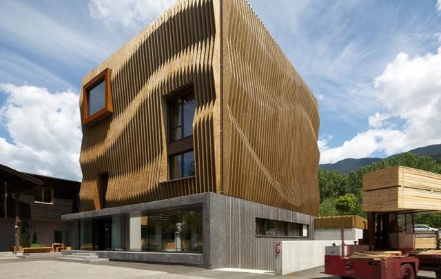 Italia: Oficinas para Damiani Holz & Ko - MoDus Architects