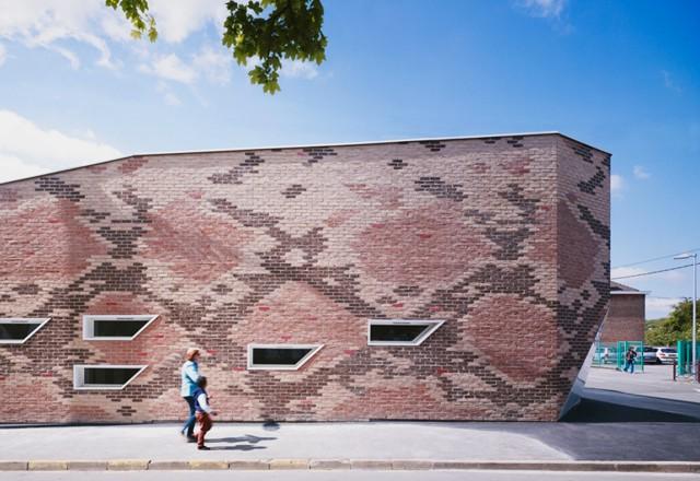 Francia: Comedor escolar en Lille - D'HOUNDT+BAJART architectes & associés