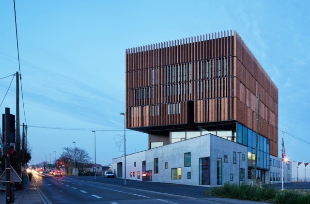 Francia: Centro Tecnológico Mantois, Mantes-Université - Badia Berger Architectes