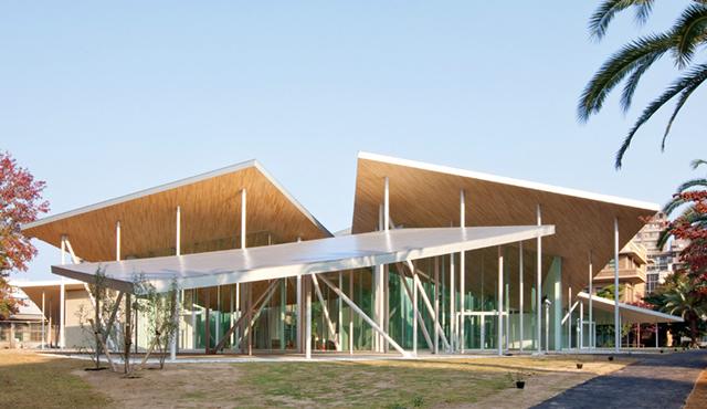 Japón: 'Junko Fukutake Hall', Okayama University - SANAA