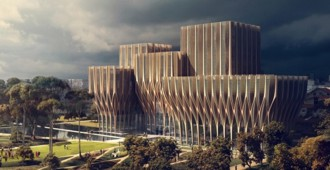 Video: Sleuk Rith Institute, Camboya - Zaha Hadid