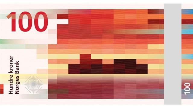 Noruega presentó sus nuevos billetes diseñados por Snøhetta