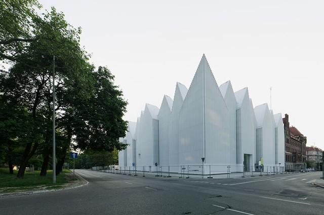 Polonia: Szczecin Philharmonie - Estudio Barozzi Veiga