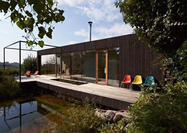 Austria: 'Teichhaus' - Hammerschmid Pachl Seebacher Architekten