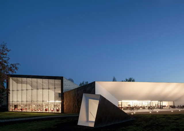 Finlandia biblioteca p blica de sein joki jkmm architects for Noticias de arquitectura recientes