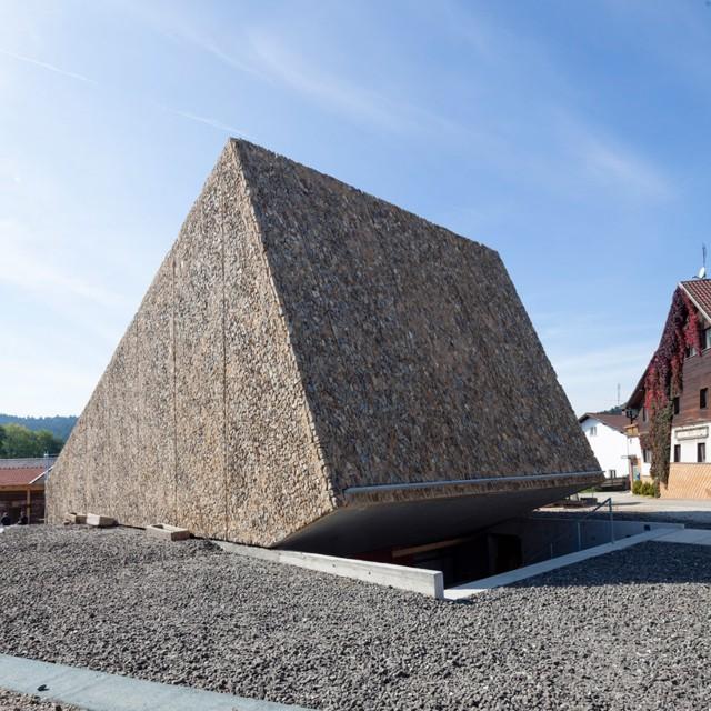 Alemania: Sala de Conciertos en Blaibach - Peter Haimerl Architektur