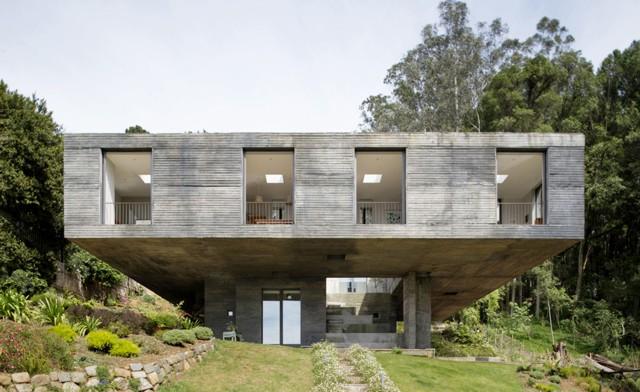 Chile: Casa Guna, San Pedro de la Paz - Pezo von Ellrichshausen