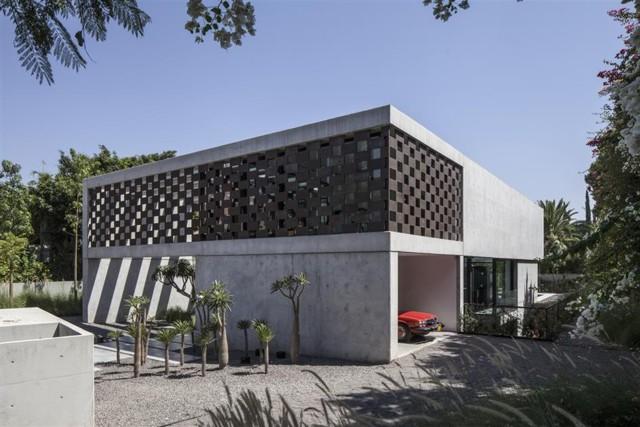 Israel: 'Corten House', Savyon - Pitsou Kedem Architects
