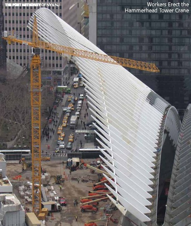 El pájaro de Calatrava para la Zona Cero se resiste a volar