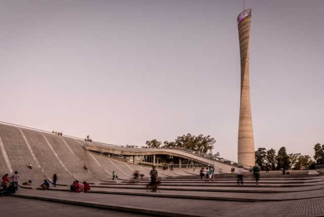 Argentina: Centro Cultural Córdoba, archivo histórico de la provincia, auditorio y faro del Bicentenario