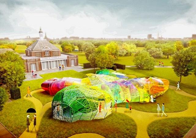 Londres: Serpentine Gallery Pavilion 2015 - SelgasCano.. primeras imágenes