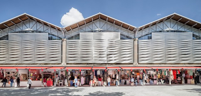 Remodelación del Mercado del Ninot, Barcelona - Mateo Arquitectura