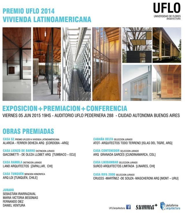 Argentina: Entrega Premio UFLO 2014 a la Vivienda Latinoamericana