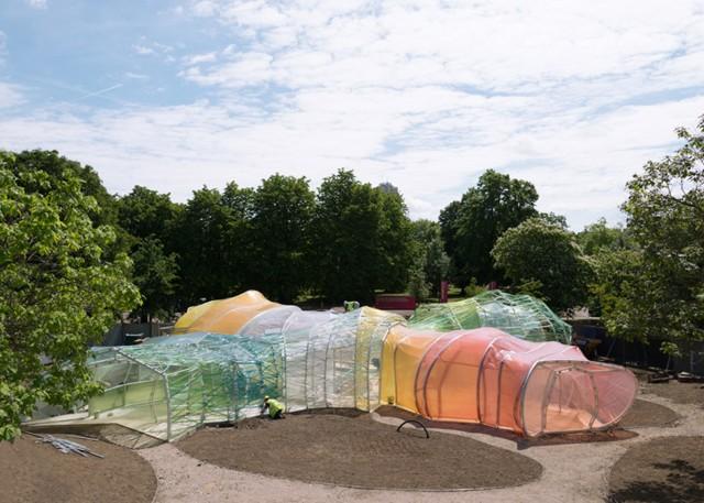 Londres: Serpentine Gallery Pavilion 2015 - SelgasCano, imágenes de las obras
