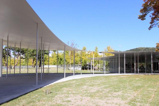 Japón: 'Junko Fukutake Terrace', Universidad de Okayama - SANAA