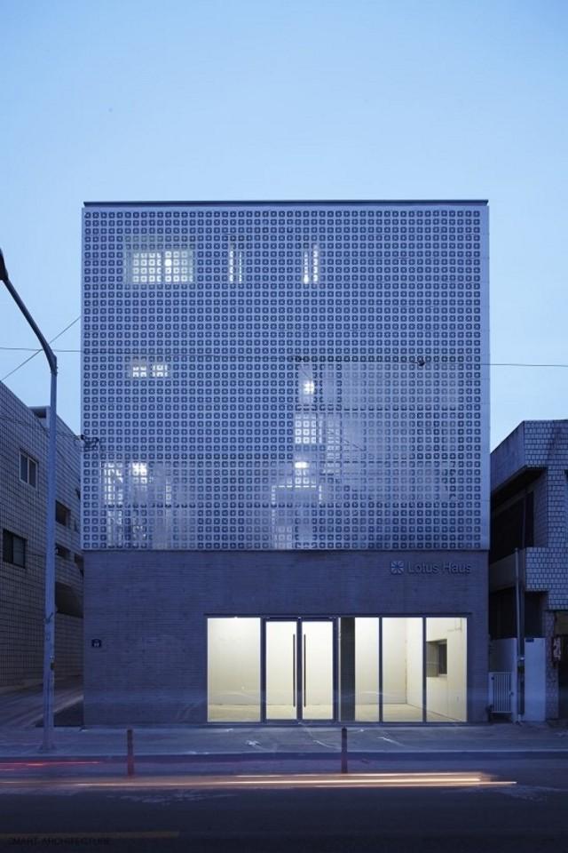 Corea del Sur: 'Lotus Haus', Daegu - Smart Architecture