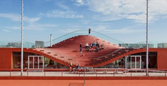 IJburg tennis club, Amsterdam - MVRDV