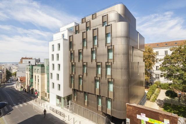 Francia: Vivienda para estudiantes en París, VIB Architecture