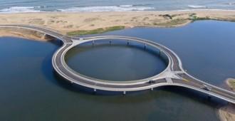 Uruguay: Puente Laguna Garzón - Rafael Viñoly