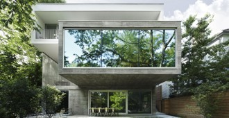 Canadá: 'Concrete House', Toronto - Angela Tsementzis Architect