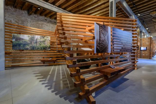 """Bienal de Arquitectura de Venecia 2016: """"experimentAR, Poéticas desde la Frontera"""" . Pabellón Argentino"""