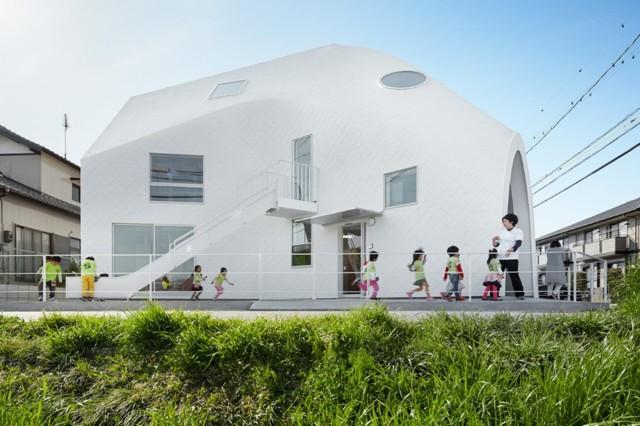 Japón: Clover House kindergarten, Okazaki - MAD Architects