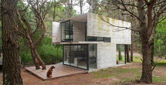 Argentina: Casa H3, Mar Azul - Luciano Kruk